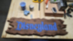Distressed Disneyland & DisneyWorld Signs