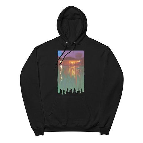 The Worst Pool Day fleece hoodie