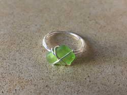 Soft Green Ring - size 6.5