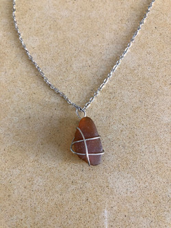 Amber Glow Necklace