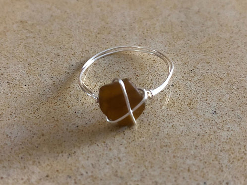 Roasted Coffee Ring - size 9