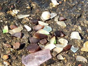 Beach Activity: Hunting for Sea Glass