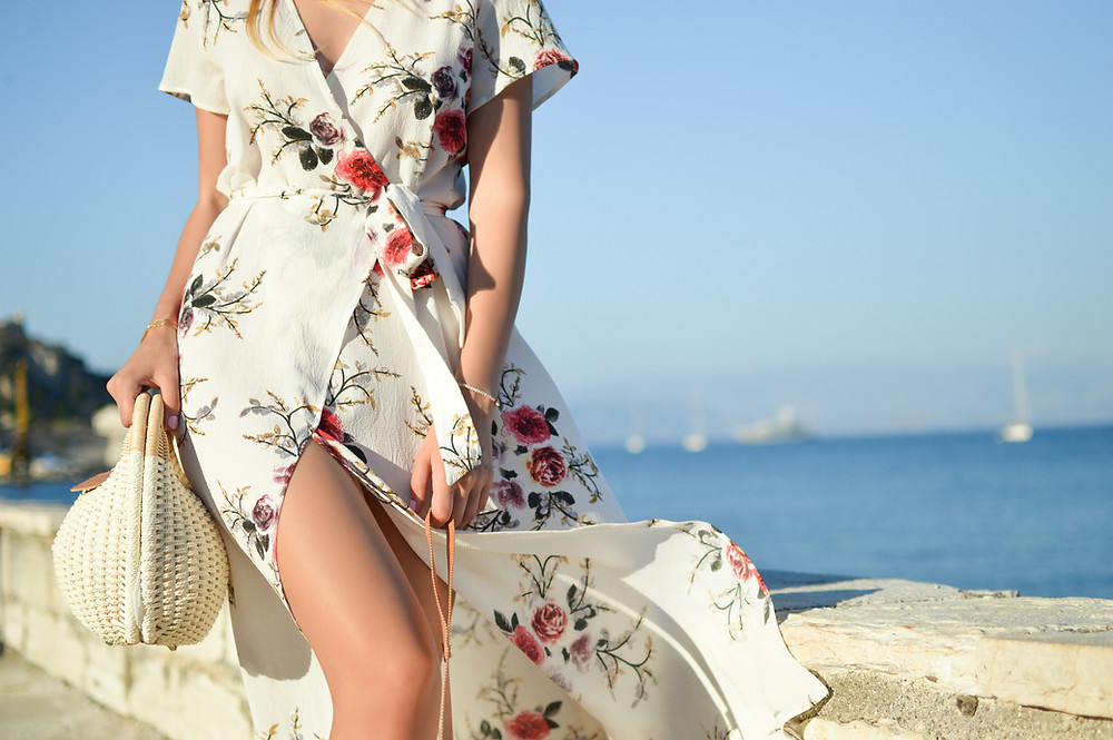 Wrap Dresses, Midriff Mojo, Styling Tips For A Happier Tum, The Image Tree Blog
