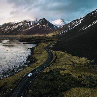 Cruise around the whole island of Iceland