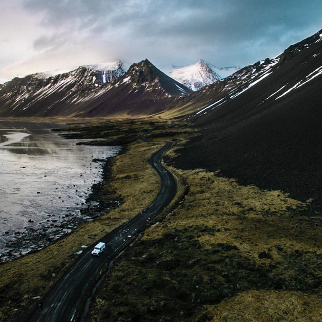 Cruise around the whole island of Iceland