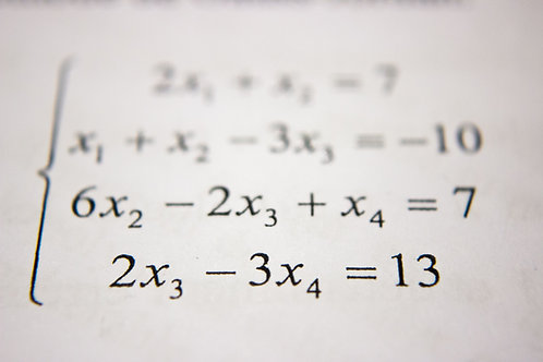 Math Foundations Class