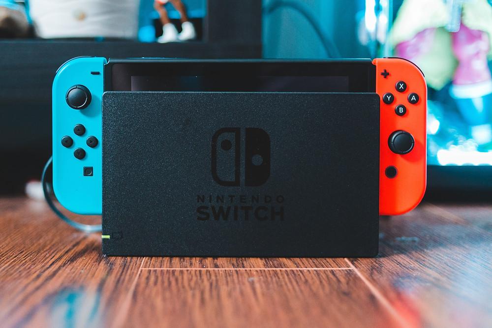 Nintendo Switch in modalità fissa