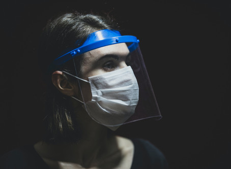 Does a plastic face shield protect you and others as well as a mask?