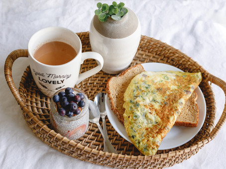 Low Calorie Cheesy Egg Omlette