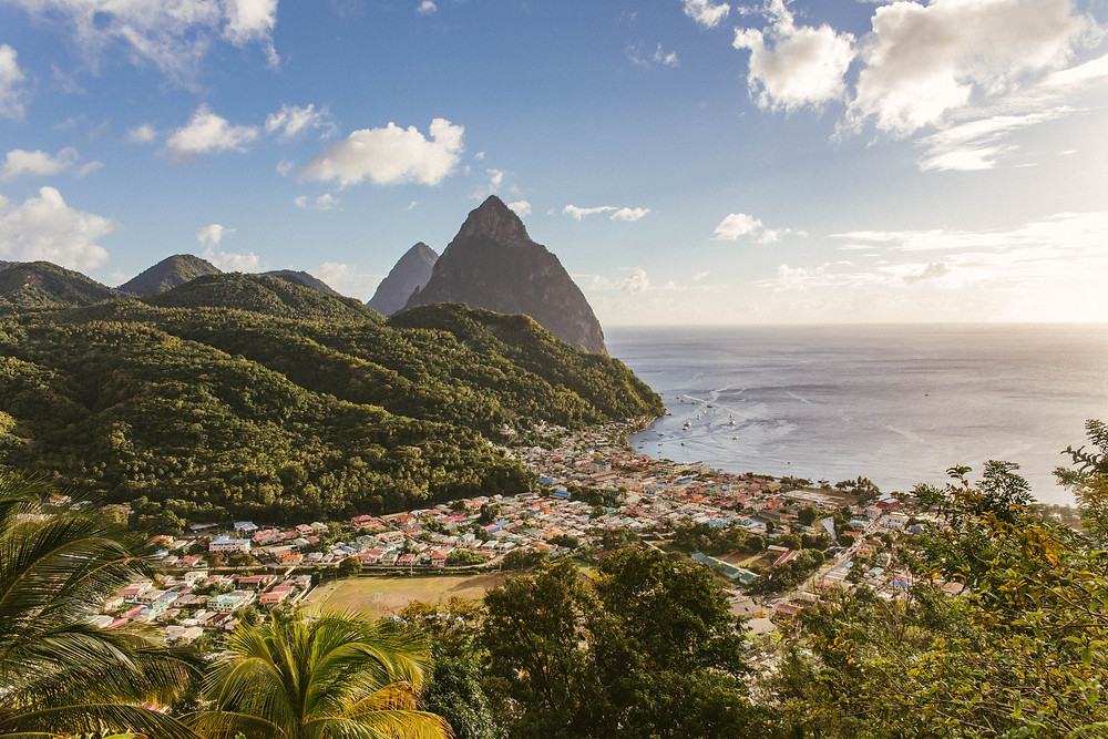 St. Lucia Country is considered one of the best Honeymoon/wedding destinations, especially on a budget