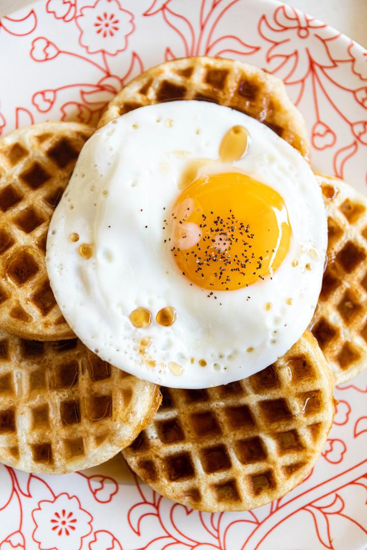 Sunny Side Up waffle
