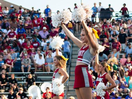 Becoming My Own Cheerleader