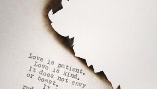 Love is....Love is not