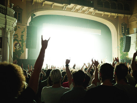 Saturday Writing Prompt -16th October - The Concert