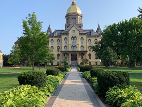 For Slate, A University of Notre Dame Employee Reflects on her Experience with Maternal Leave