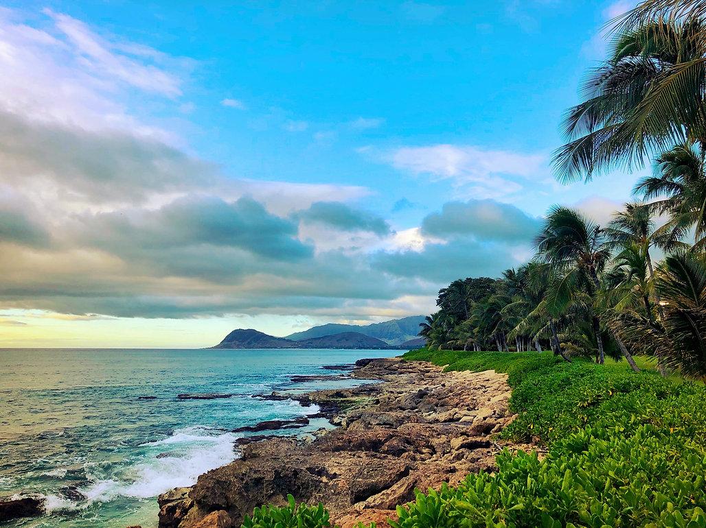 scenic view of a Dominican Republic coastline