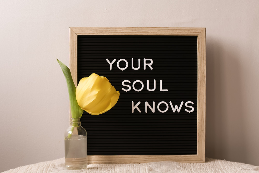 Follow your intuition to find your purpose in life.