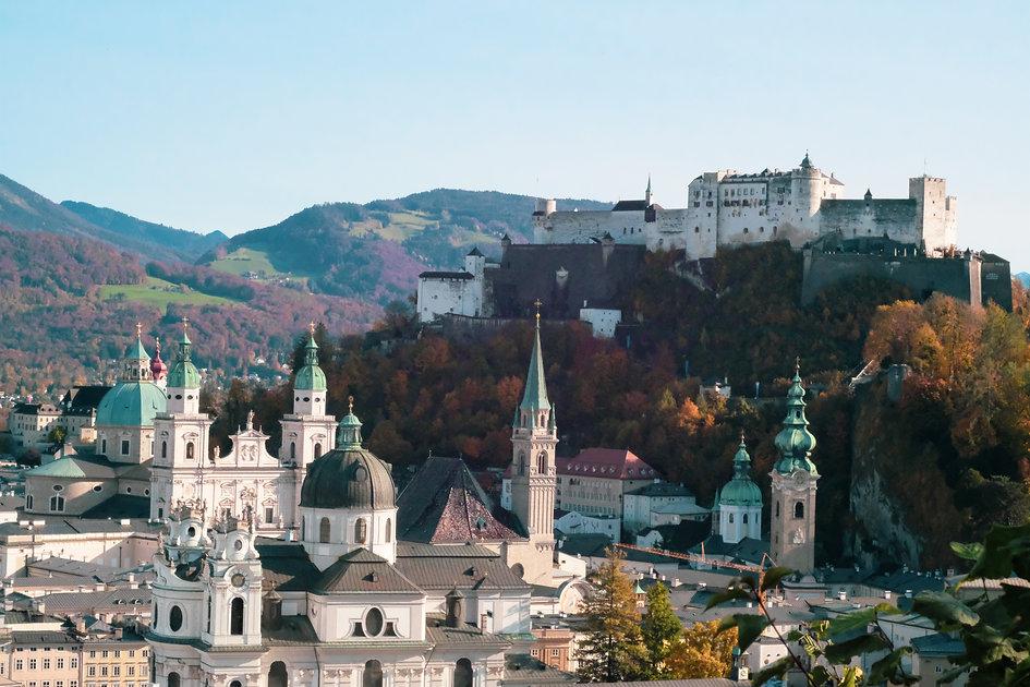 Altstadt Salzburg und Festung Hohensalzburg
