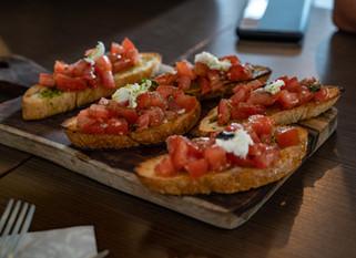 Chef Gianluca Deiana Abis: Bruschette Al Pomodoro/Tomato Bruschette