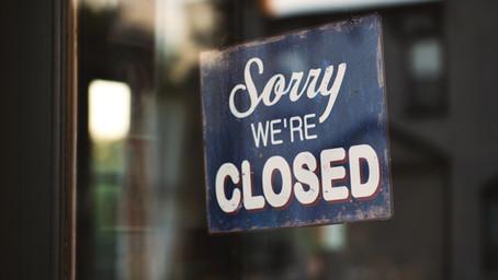 Fanshawe Closed Today, Sunday 18th July - No training