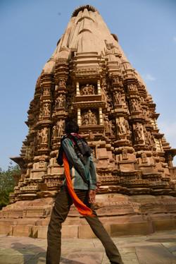Exotic sculptured temples Khajuraho