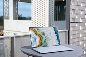 Laptop with Design on the screen