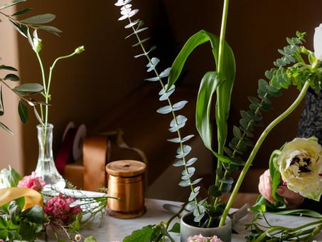Virtual flower arranging.