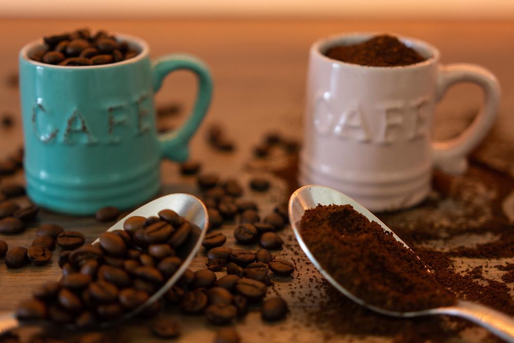 kawa ziarnista mielona świeżo palona