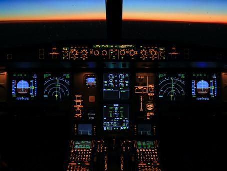 A efetividade dos simuladores de voo no treinamento de pilotos