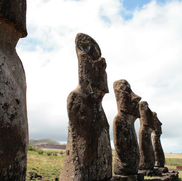 Meet the Moai at the Rapa Nui