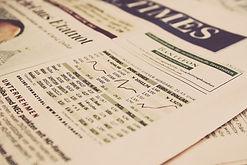 avis aktier børs