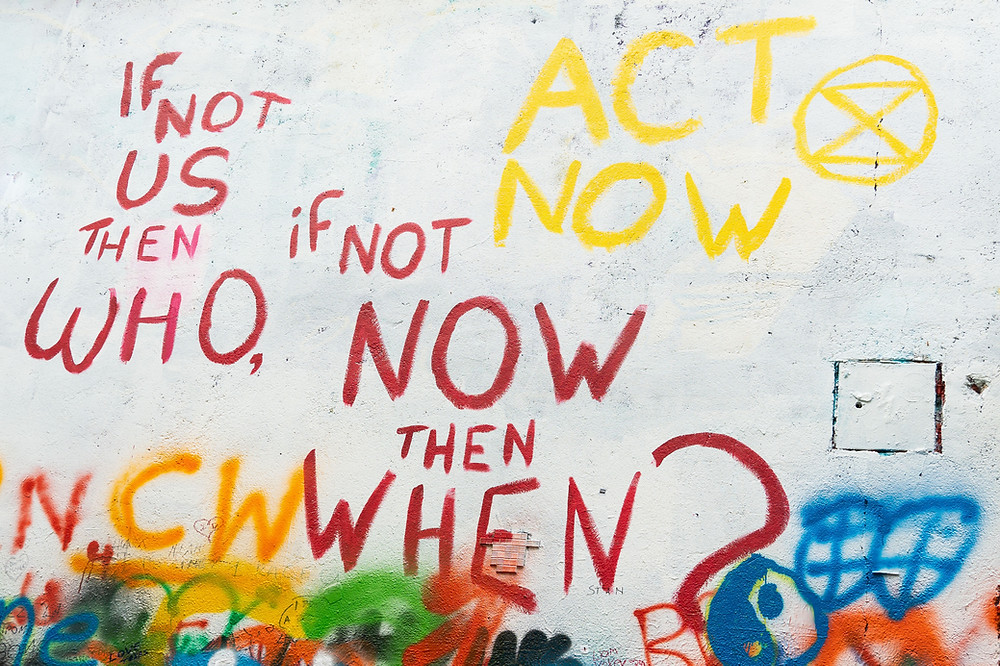 If not us then who, if not know then when, act now