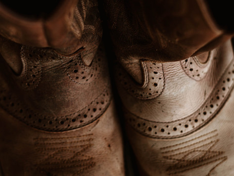Saturday Writing Prompt -25th September- Worn Boots