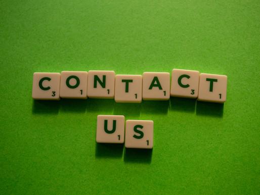 Kontaktuppgifter för medlem