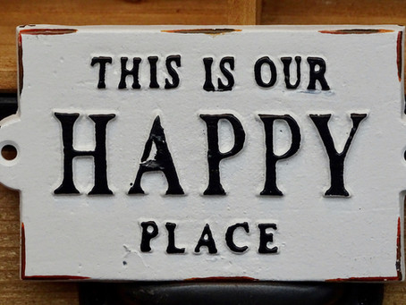 What SPACES make you feel positive?