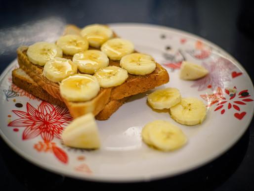 Peanut Butter, Banana and Chia Toast