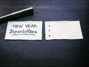 A New Year Resolution That Matters