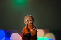 Baby Hat Monk Buddha Idols