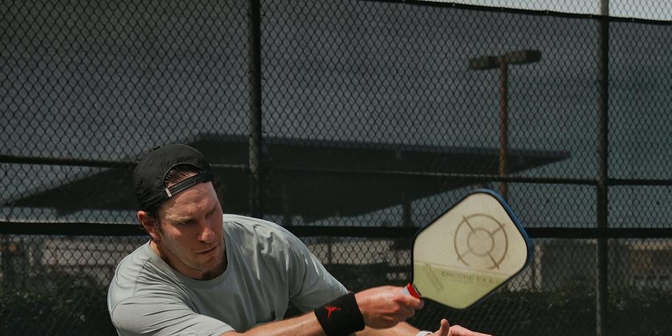 Pickleball Tournament/Tennis Pro Exhibition and Party at the Tents