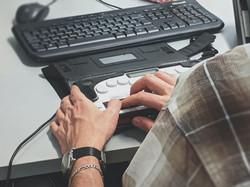 "alt=""someone typing on a keyboard"""