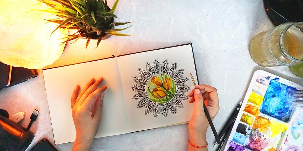 Momento Mindful - Meditando com Mandalas