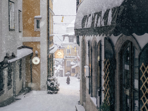 Saturday Writing Prompt -24th April - The Winter Store