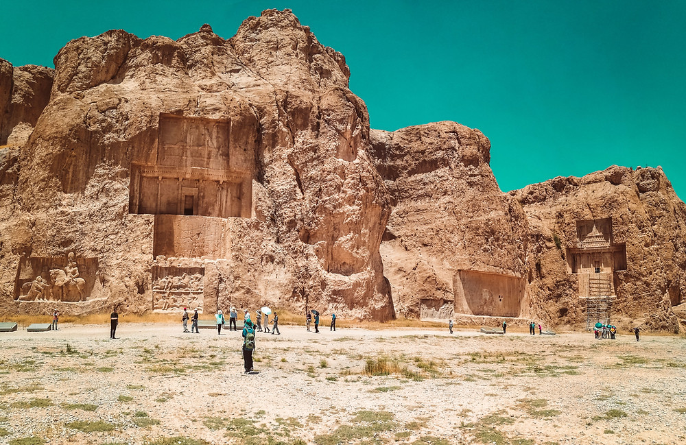 CK HAMIDI: Írán, Persepolis