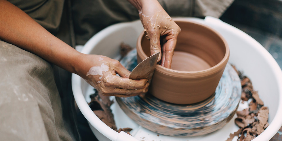 InterActive Lunch - Clay Haus Pottery Demo