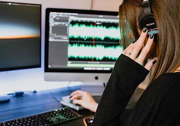 Audiobearbeitung am Computer