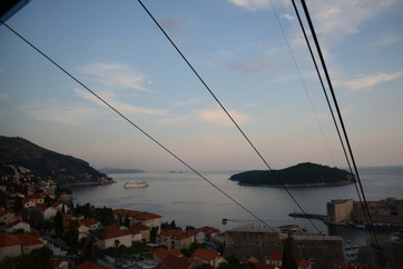 View towards Lokrum island