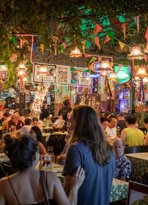 The Food Courts of London - Hip Food Theatres and Night Life (one-stop shop for a meal or drinks)