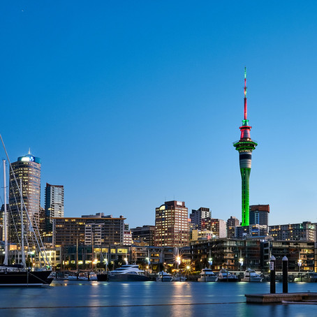 How About Auckland, New Zealand?