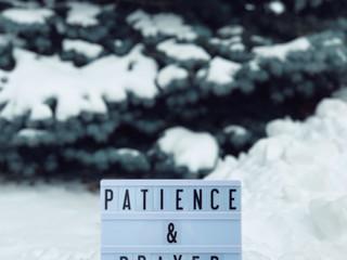 Patience...Patience...Patience