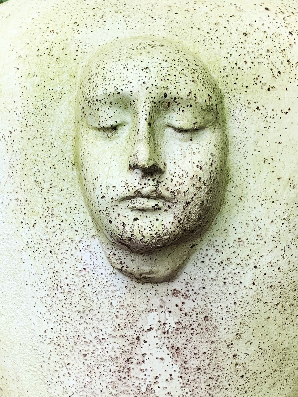 Plaster casting of person, by Jan Canty